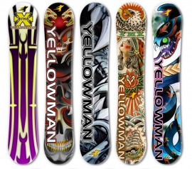 Promotional Snowboard Designs