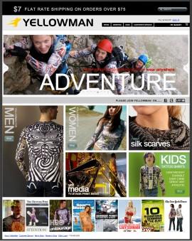YellowMan Web Site