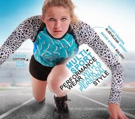 Product Ad Design   Sport Apparel