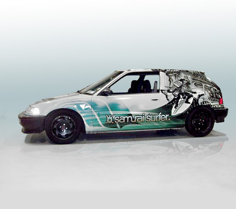 Promotional Car Wrap