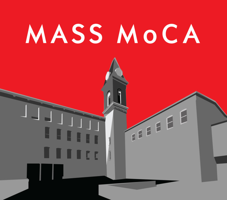 MASS MoCA Illustrated Logo