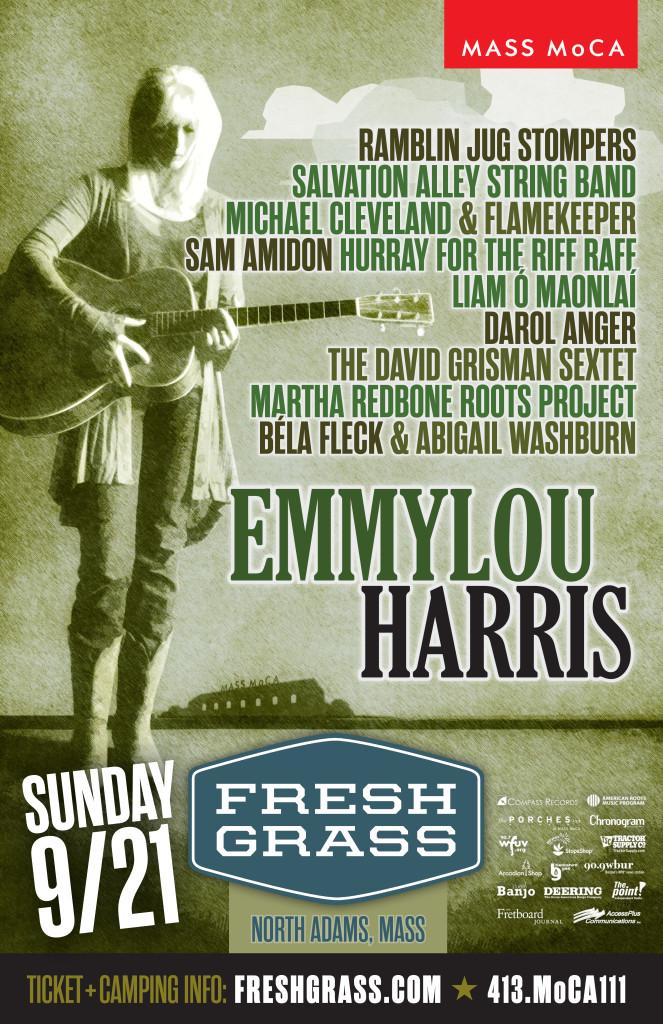Emmylou Poster