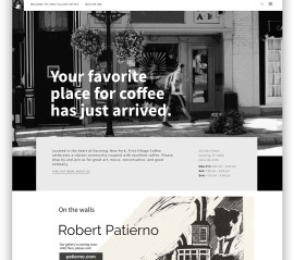 First Village Coffee Website