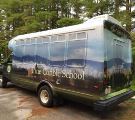 Pine Cobble School Bus Wrap