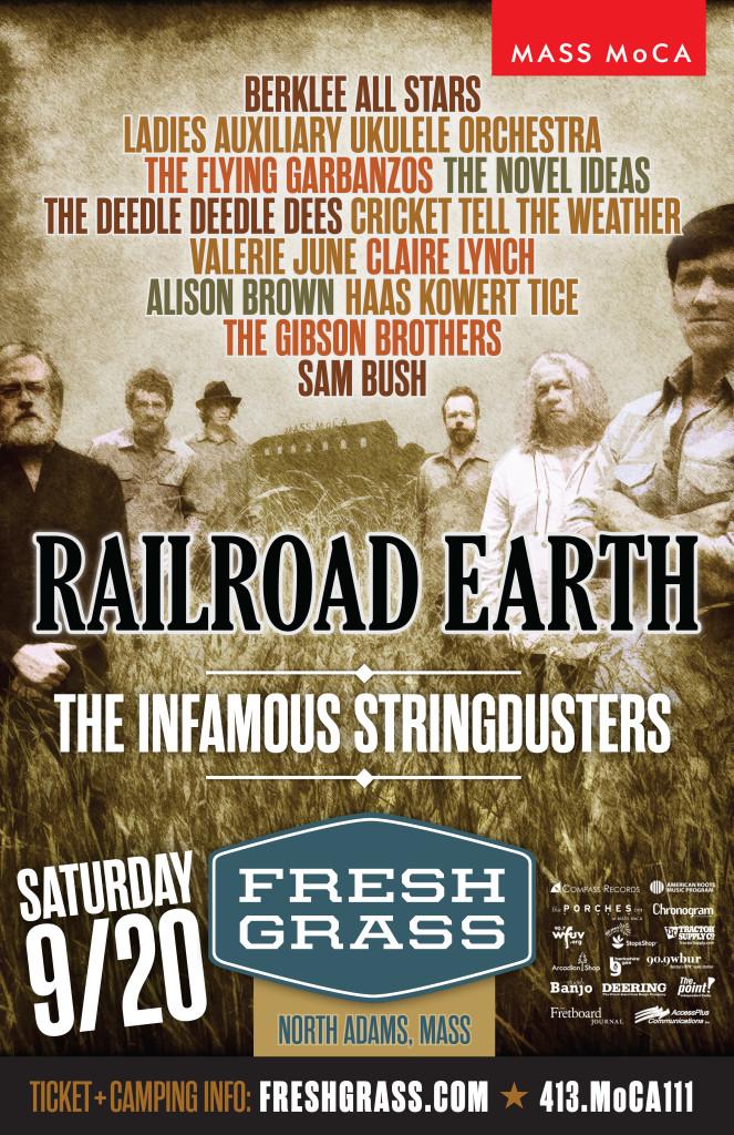 Railroad Earth Band Poster